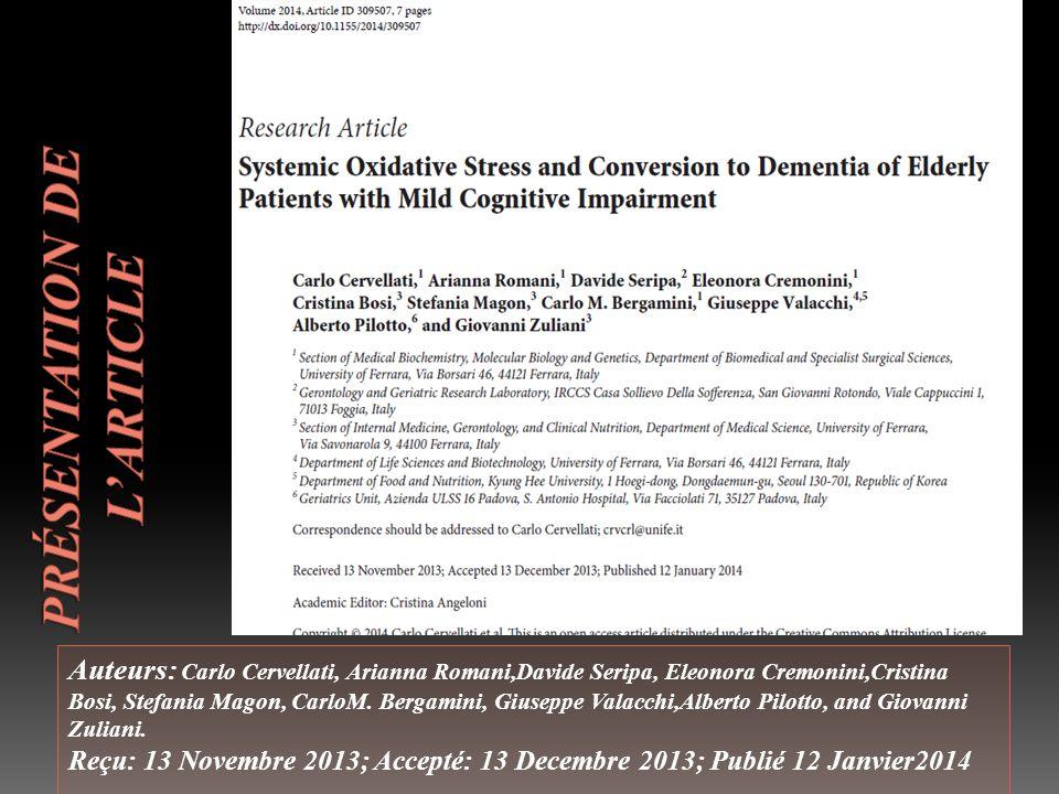 Auteurs: Carlo Cervellati, Arianna Romani,Davide Seripa, Eleonora Cremonini,Cristina Bosi, Stefania Magon, CarloM.
