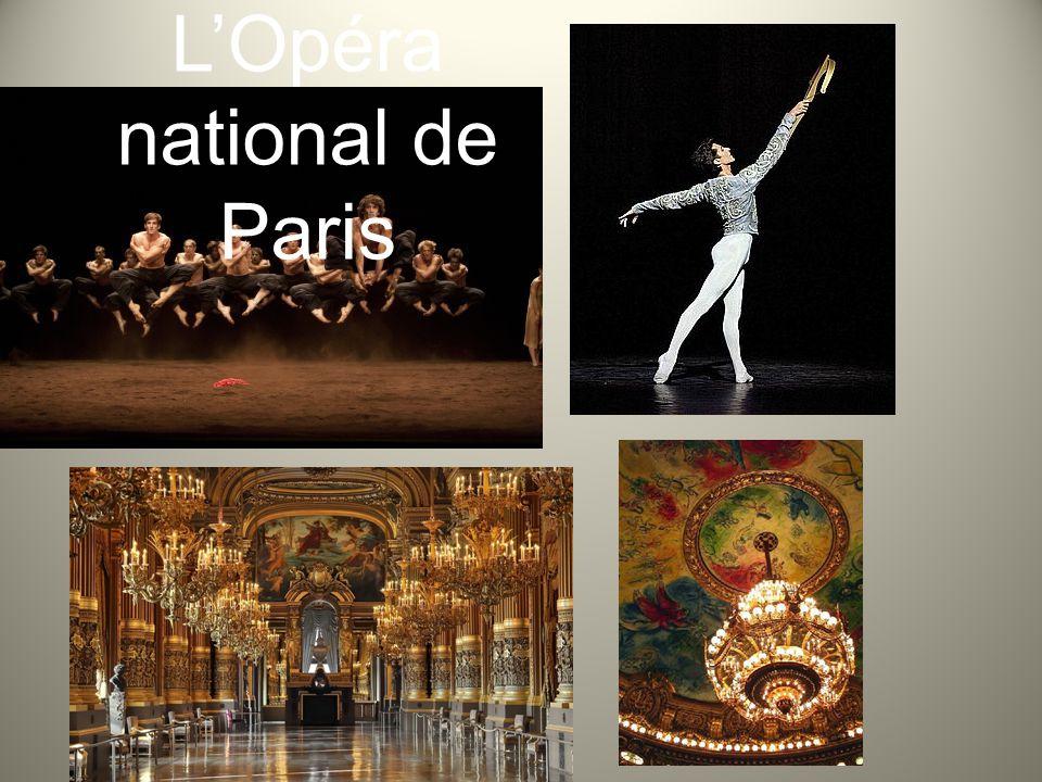 L'Opéra National de Paris est née en 1669 à demande de Luis XIV avec le nom d´Académie Royale de Musique.