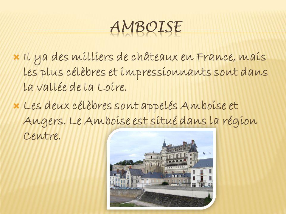  Il ya des milliers de châteaux en France, mais les plus célèbres et impressionnants sont dans la vallée de la Loire.