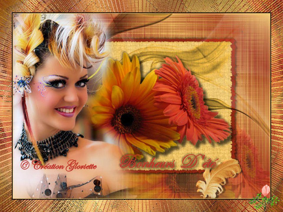 Passer de bons moments Ne pas compter le temps Avec des fleurs au cœur C'est vraiment du bonheur Tout resplendit de beauté Voici les bonheurs d'été La violette est dans le pré On entend le merle chanter..