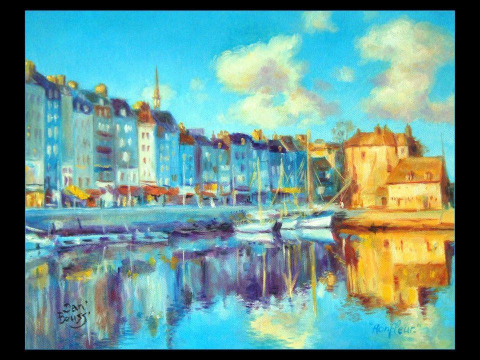 Les artistes Gustave Courbet, Eugène Bourdin, Claude Monet, et Johan Barthold Jongkind ont maintes fois représenté Honfleur et ont contribué à l'apparition du mouvement impressionniste