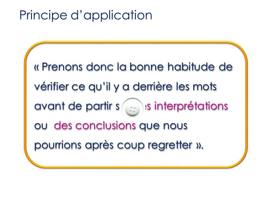 (ou ressenti)  3) la réaction interne (ou ressenti) C'est la réaction automatique déclenchée par l'interprétation d'un événement ou d'une information