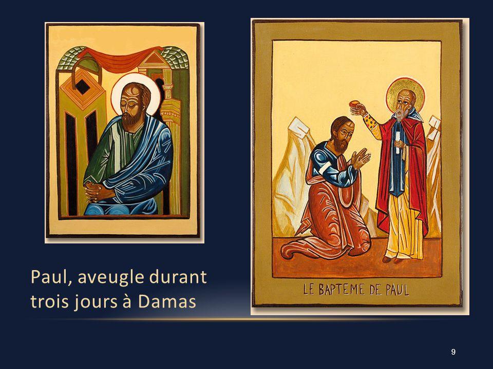 Paul, aveugle durant trois jours à Damas 9