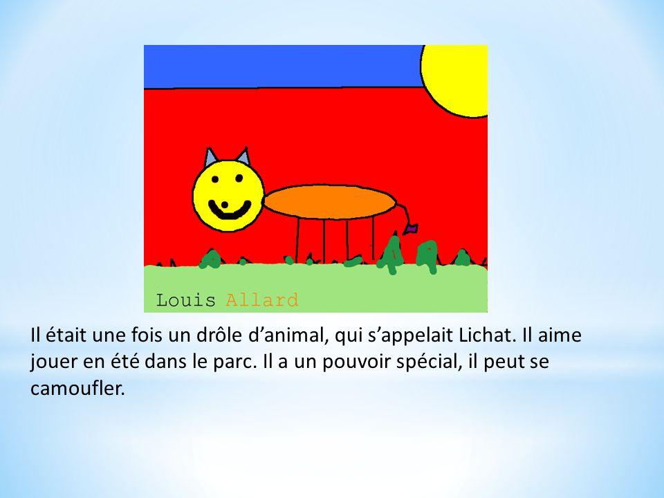 Le Lichat Auteur : Louis