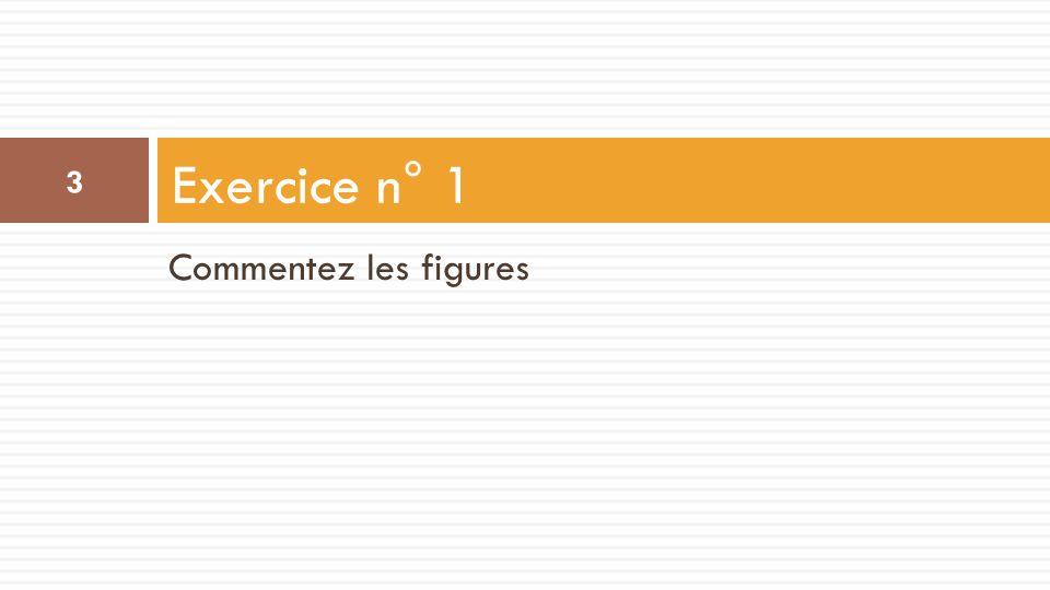 Commentez les figures Exercice n° 1 3