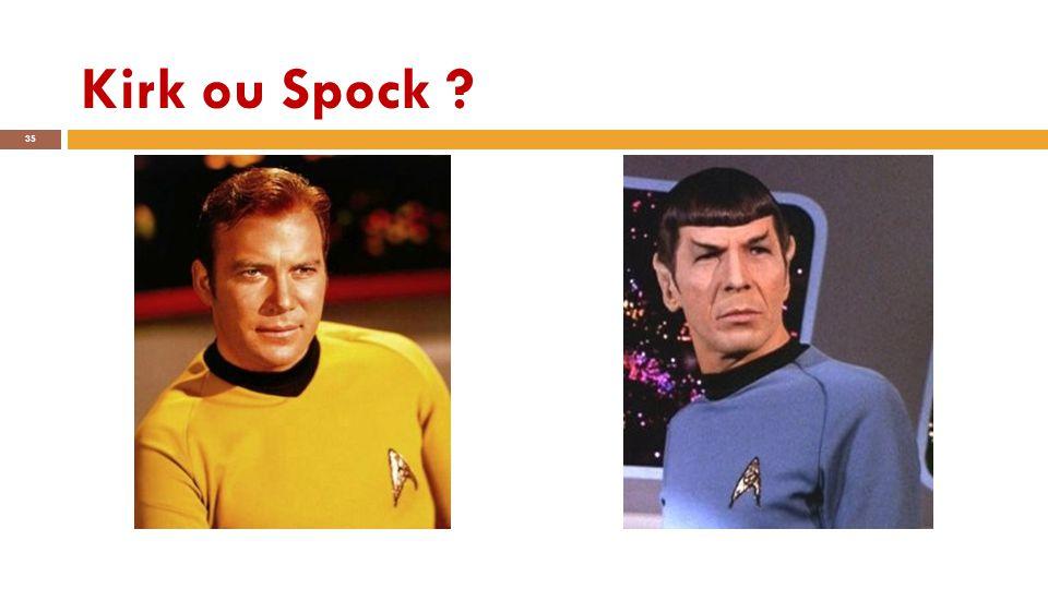 Kirk ou Spock ? 35