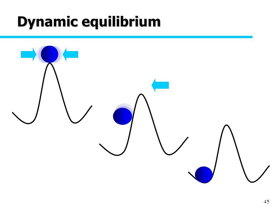 45 Dynamic equilibrium