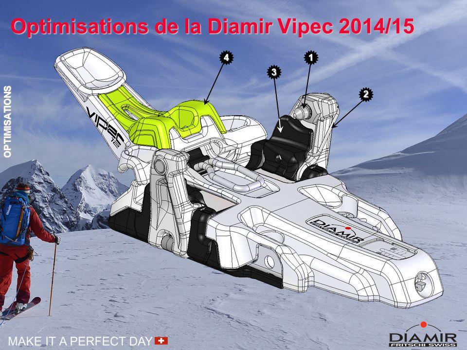 Optimisations de la Diamir Vipec 2014/15 41 3 2 OPTIMISATIONS