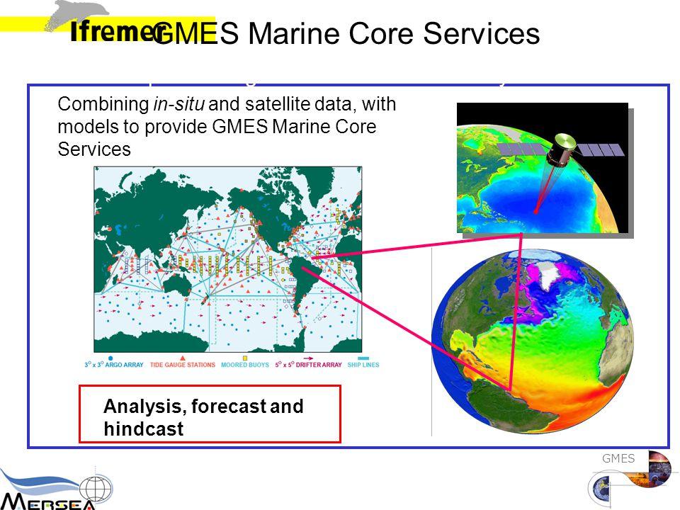 GMES Seeking for European Integration Topaz, No Foam, UK DMI, Dk MFS, It Mercator, Fr