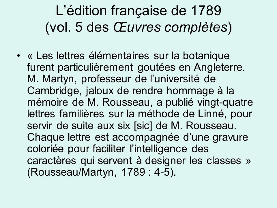 L'édition française de 1789 (vol.
