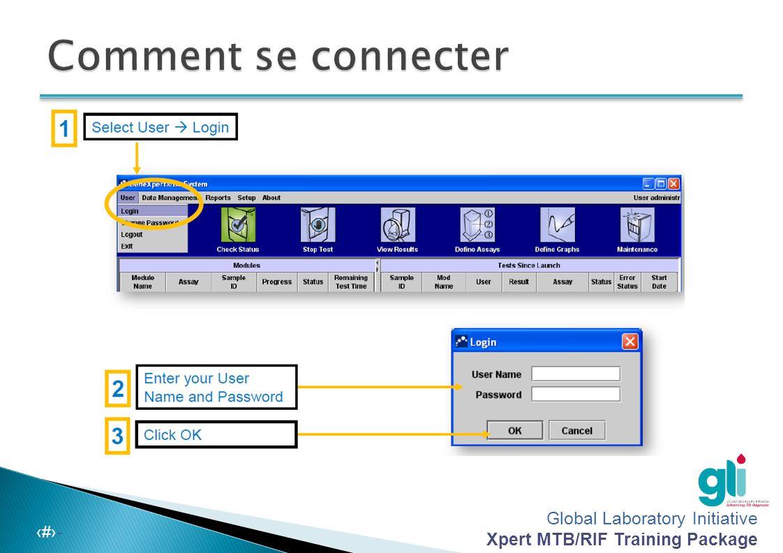 Global Laboratory Initiative Xpert MTB/RIF Training Package -‹#›- REMARQUE : Si vous sélectionnez « Detail » (détaillé), l'utilisateur verra les courb