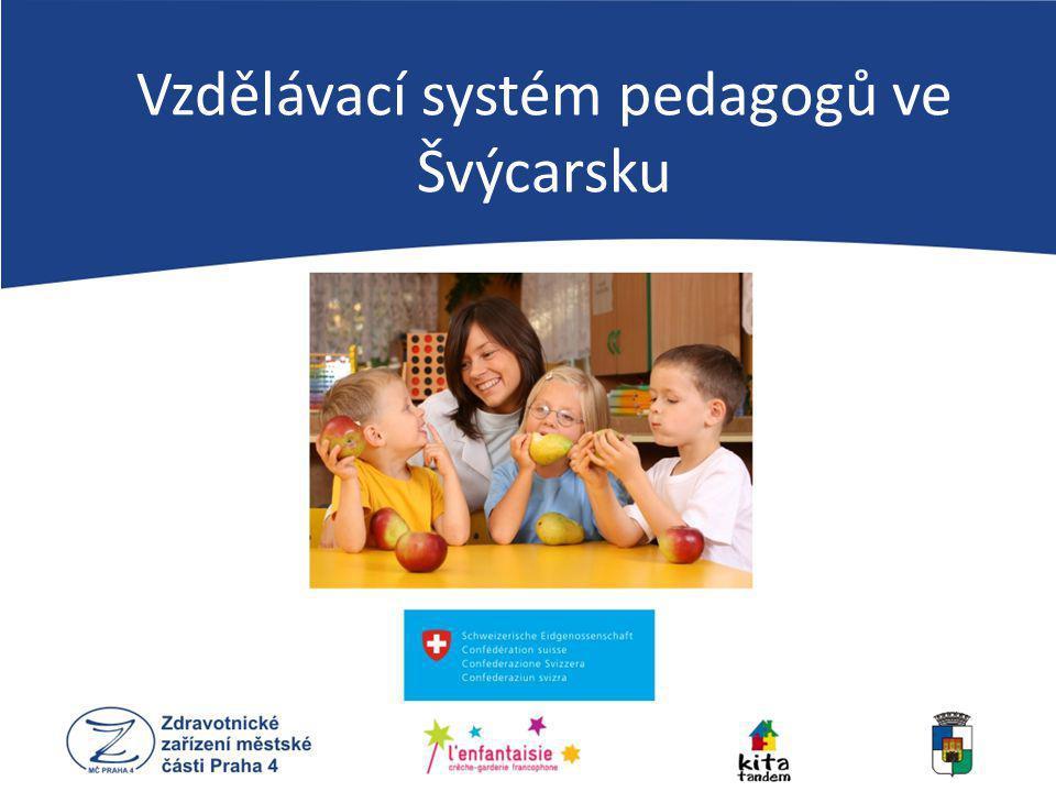 Vzdělávací systém pedagogů ve Švýcarsku