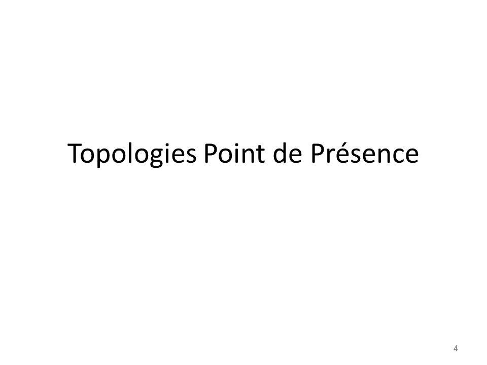 Topologies Point de Présence 4