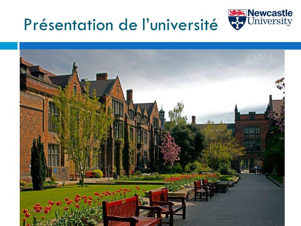 Présentation de l'université