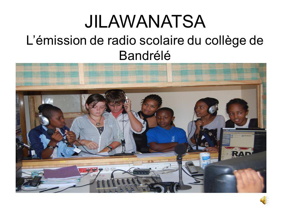 JILAWANATSA L'émission de radio scolaire du collège de Bandrélé