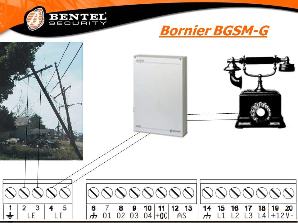 Bornier BGSM-G