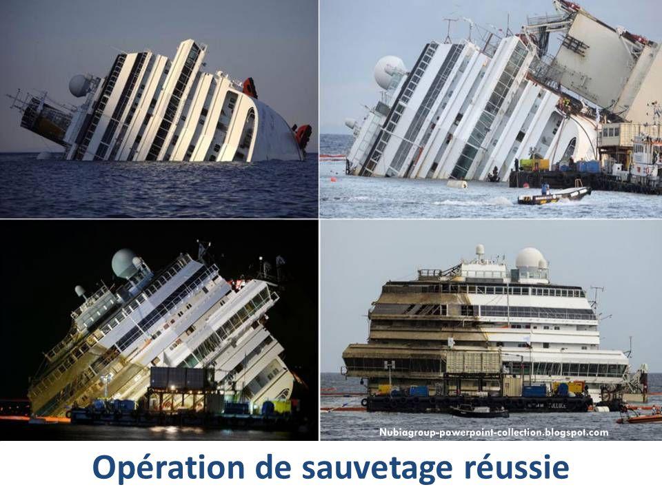 Opération de sauvetage réussie