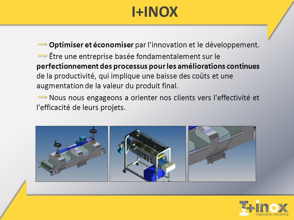 I+INOX Optimiser et économiser par l'innovation et le développement.