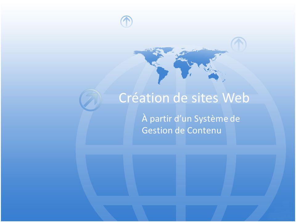 Création de sites Web À partir d'un Système de Gestion de Contenu