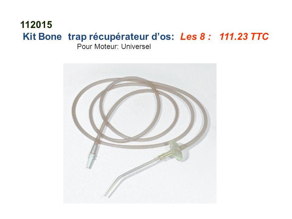 112015 Kit Bone trap récupérateur d'os: Les 8 : 111.23 TTC Pour Moteur: Universel