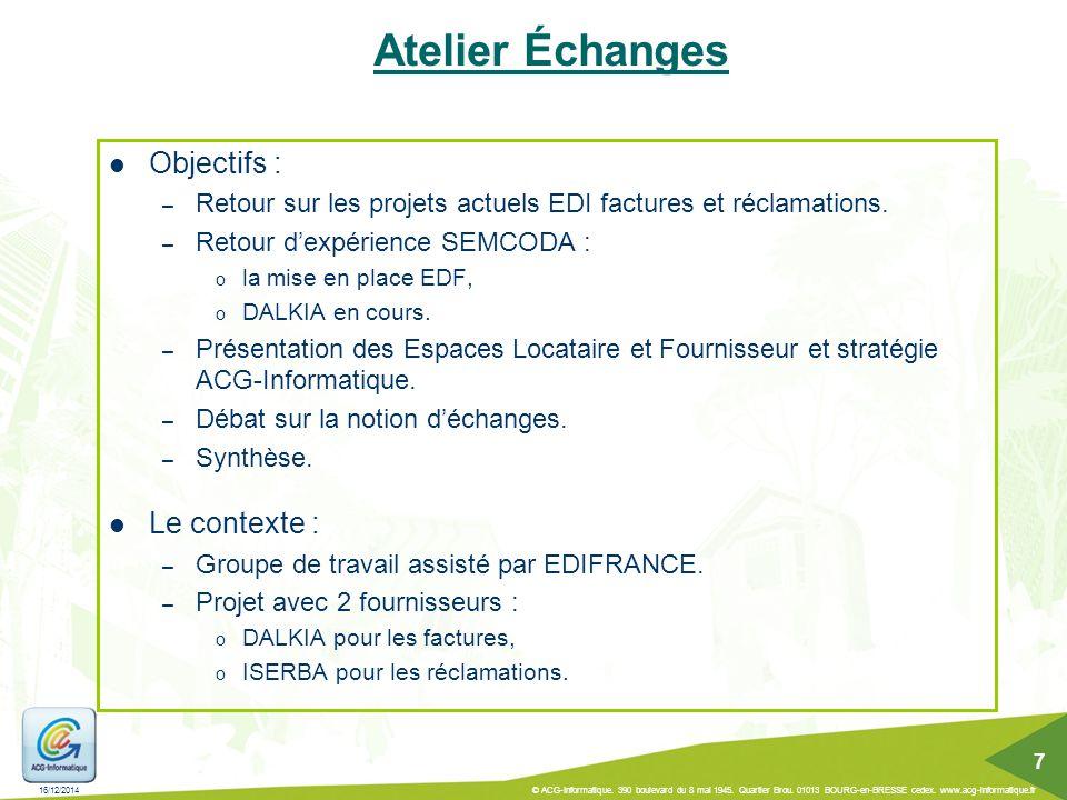 Et Après … Infocentre & Datamarts : – Développement des adaptations fonctionnelles recensées.