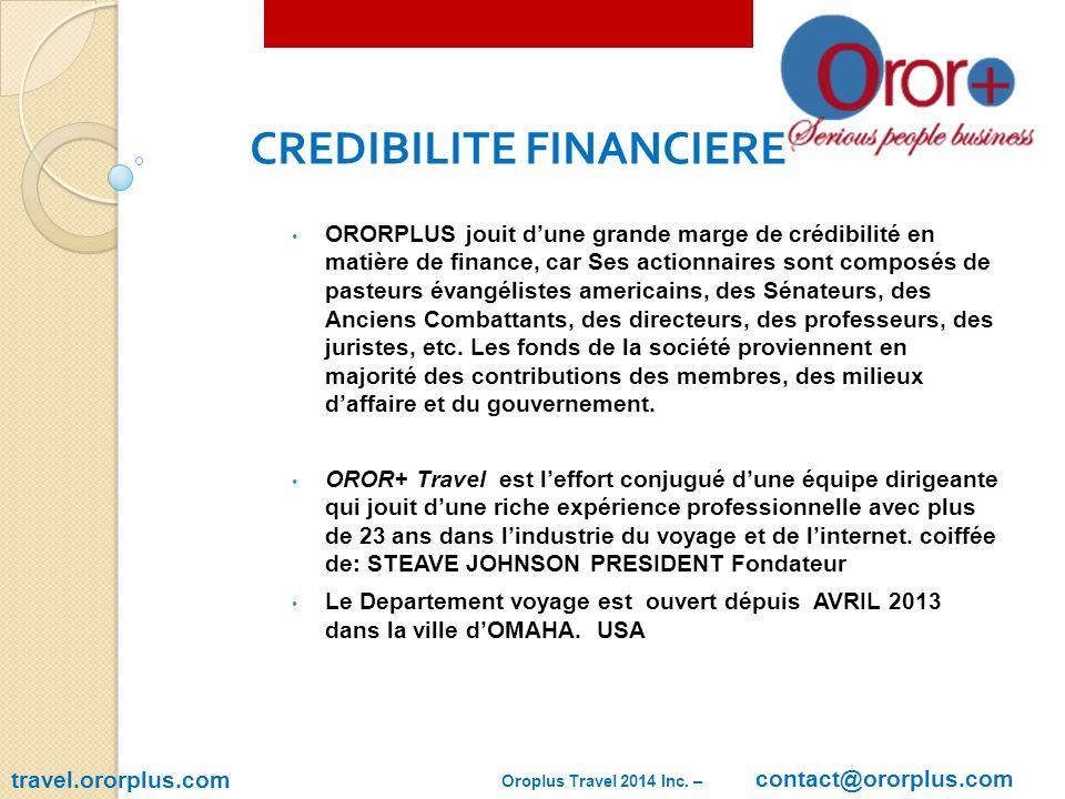 travel.ororplus.com Ororplus Market 2014 Inc.