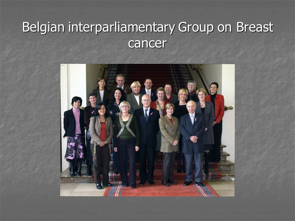 Belgian interparliamentary Group on Breast cancer