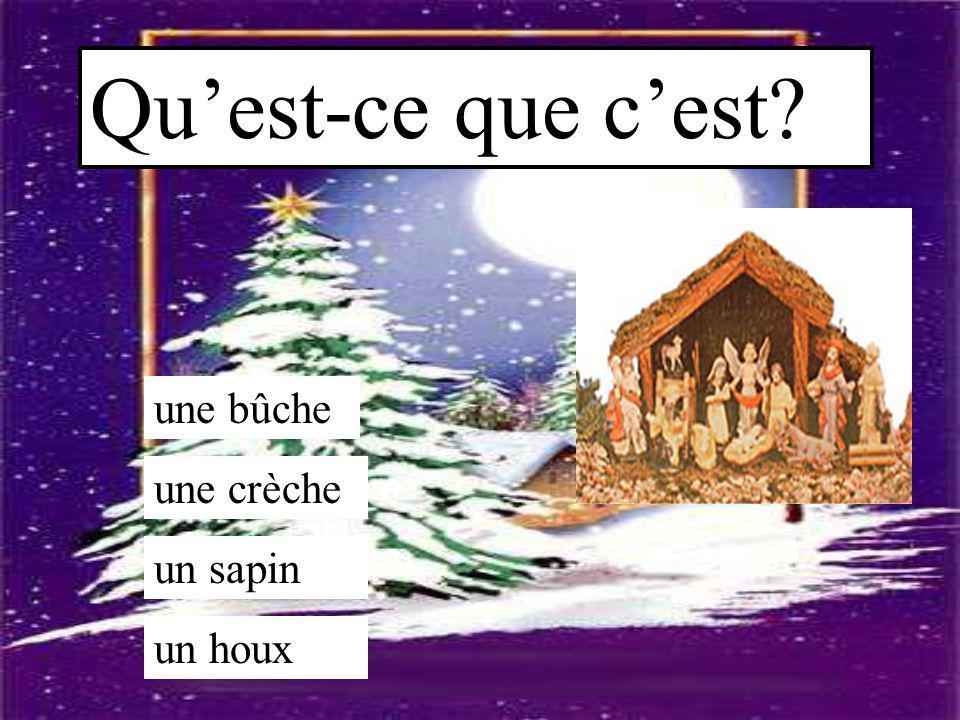 Le Père Noël est aussi appelé la Sainte Barbe dans le nord de la France? vrai faux