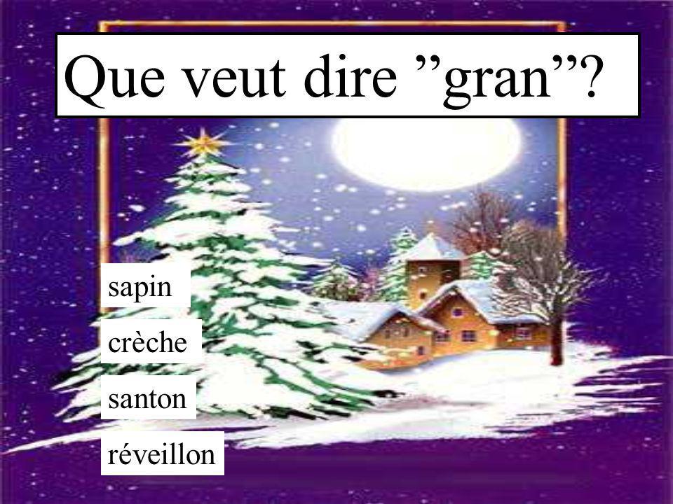 Qu'est-ce que la bûche ? une statuette un arbre de Noël un petit lutin (tomte) un gâteau de Noël