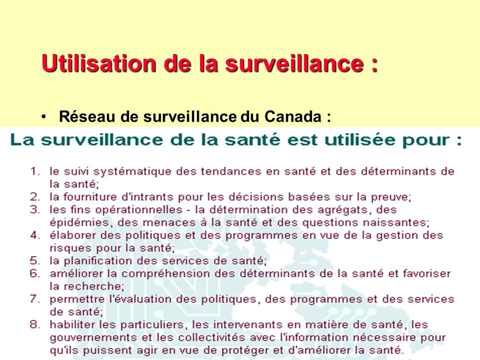 27 Robert J. FREUND Surveillance en santé publique Master Complexes pathogènes tropicaux novembre 2003 Utilisation de la surveillance : Quelques criti