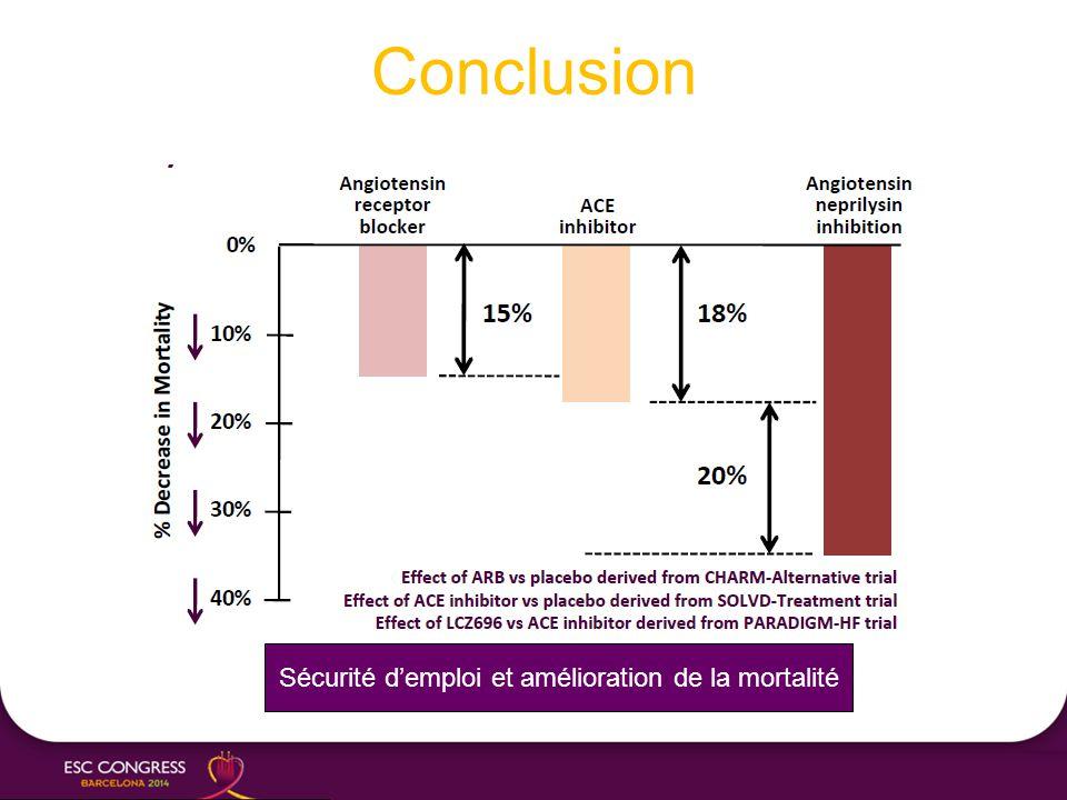 Conclusion Sécurité d'emploi et amélioration de la mortalité