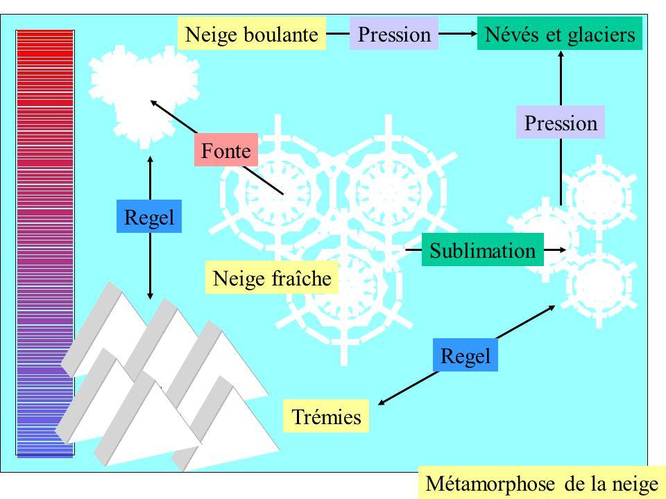 Le manteau neigeux possède une structure stratifiée et constitue un milieu hétérogène et anisotrope.