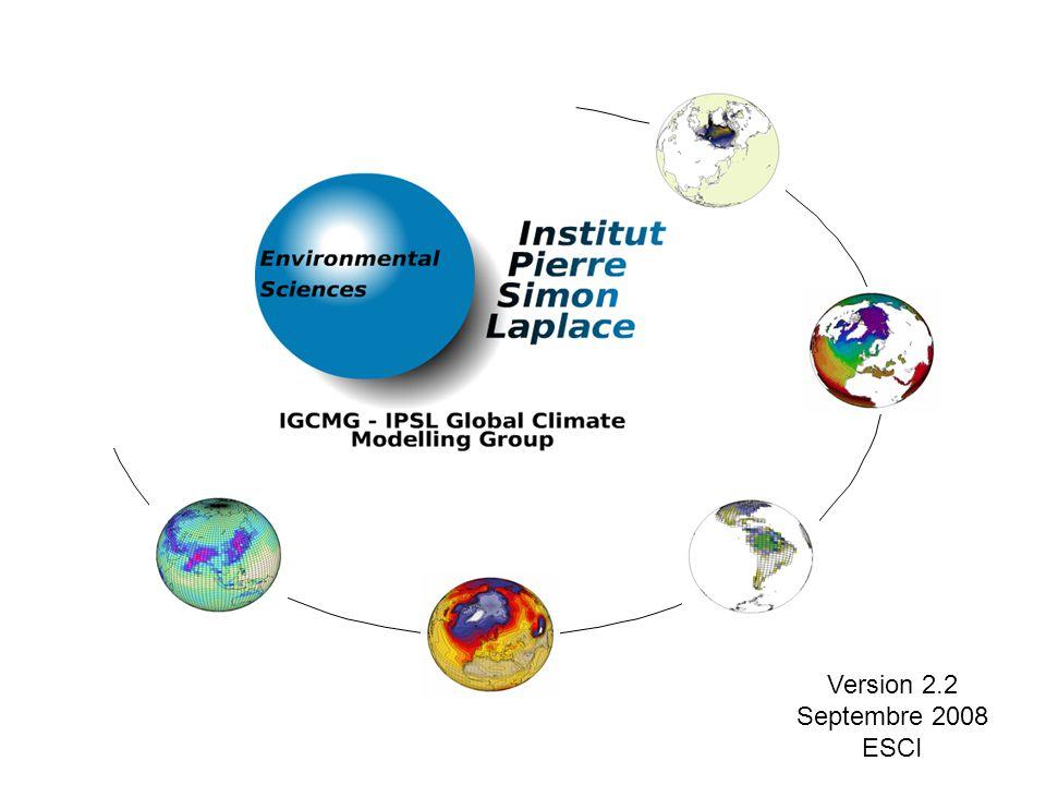 Version 2.2 Septembre 2008 ESCI