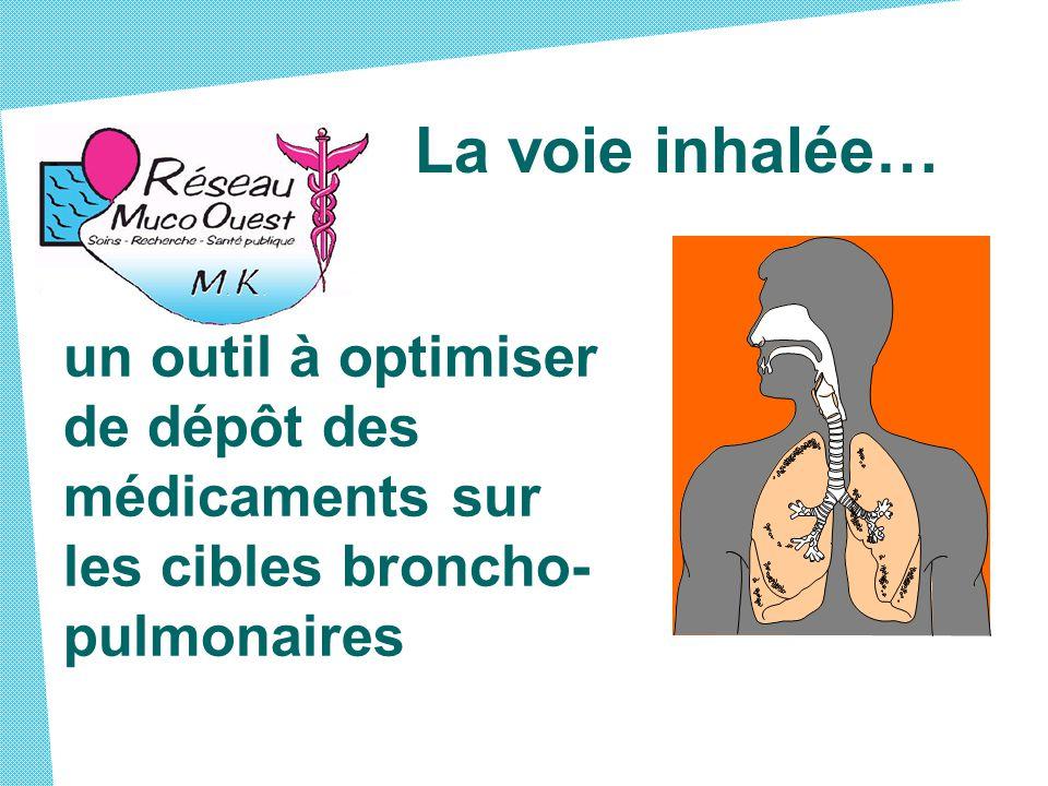 La voie inhalée… un outil à optimiser de dépôt des médicaments sur les cibles broncho- pulmonaires