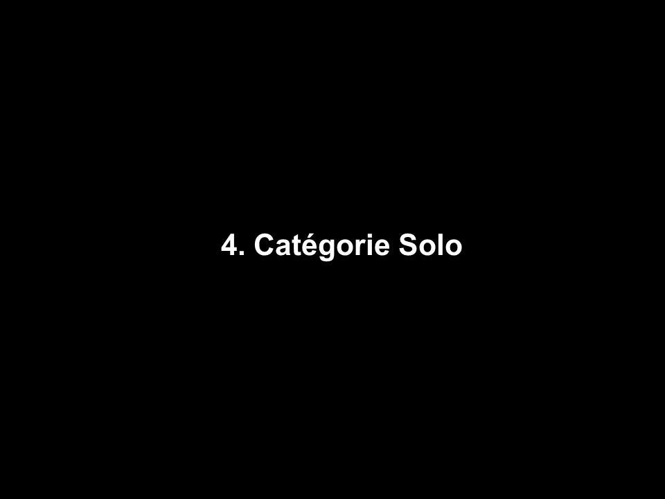 4. Catégorie Solo