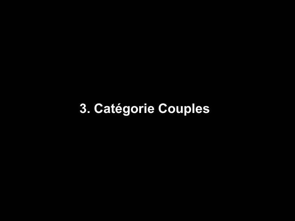 3. Catégorie Couples