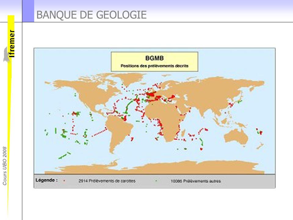 Cours UBO 2008 BANQUE DE GEOLOGIE
