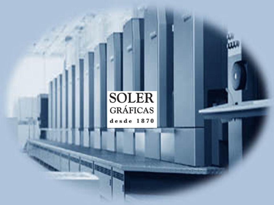 SOLER GRAFIC LA TECHNOLOGIE IMPRESSION –Heidelberg Speedmaster de 10 corps d impression en ligne permettant l impression simultanée recto-verso quadri + pantone ou vernis.