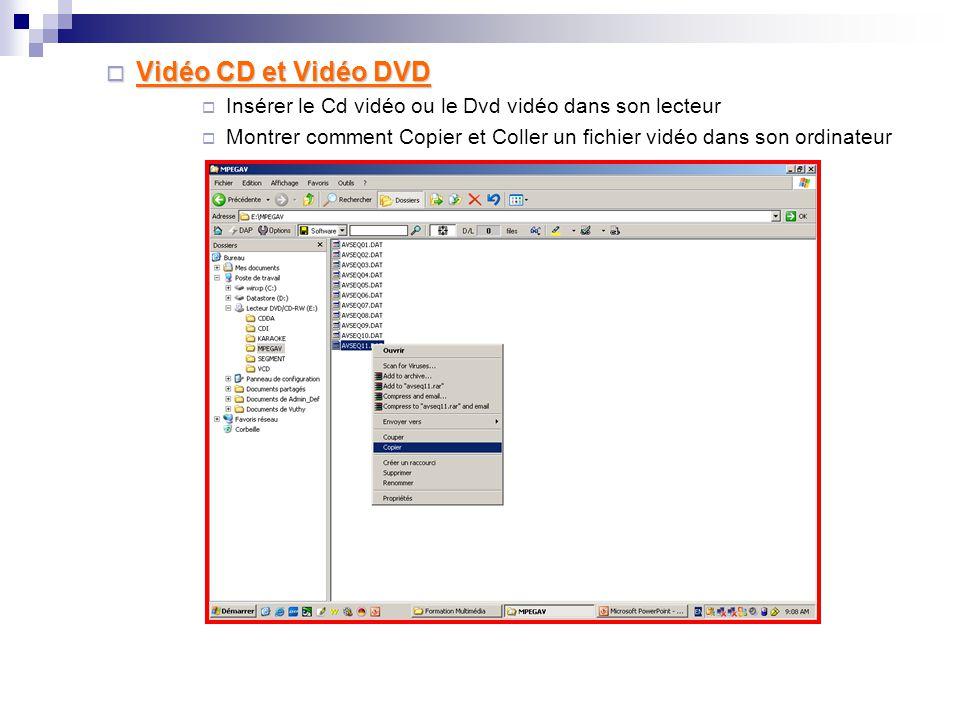 3. Obtention un vidéo dans son ordinateur 3.