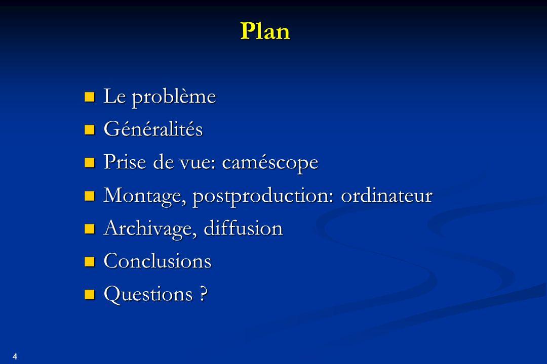 5 Le problème Film …00011101110001001111… Suite de bits C'est un problème de codage