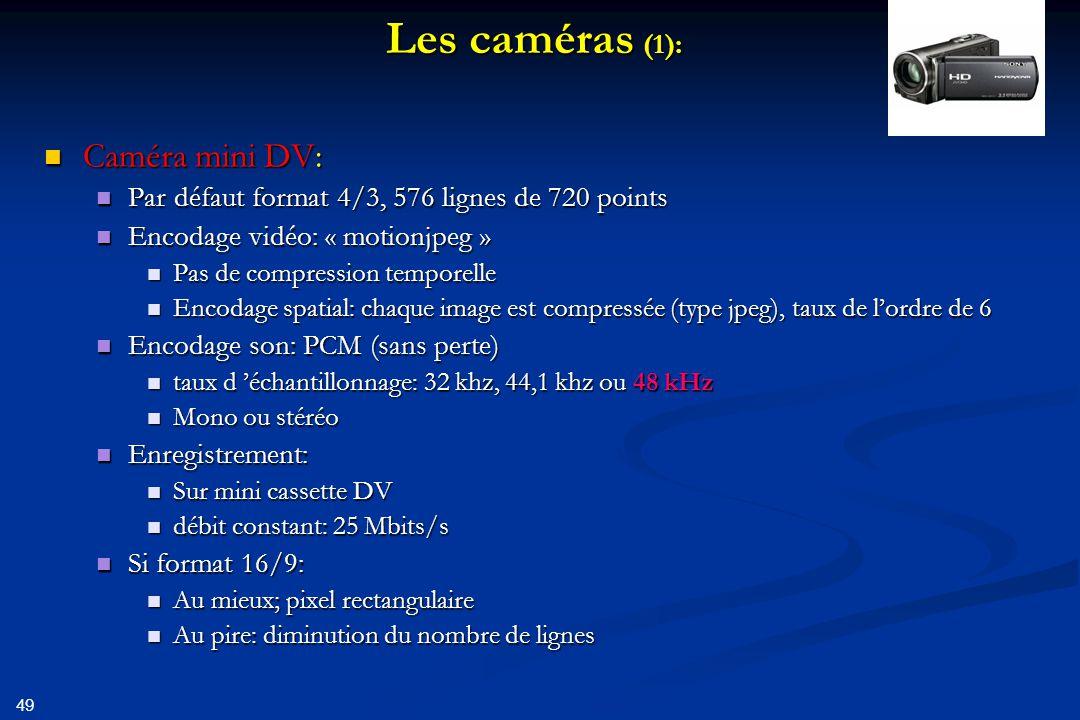 50 Exemple mini DV Général Nom complet : E:\Manu\irlande.avi Format : AVI Format/Info : Audio Video Interleave Format_Commercial_IfAny : DVCPRO Profil du format : OpenDML Taille du fichier : 7,35 Gio Durée : 36mn 32s Débit global moyen : 28,8 Mb/s Vidéo ID : 0 Format : DV Format_Commercial_IfAny : DVCPRO Durée : 36mn 32s Type de débit : Constant Débit : 24,4 Mb/s Largeur : 720 pixels Hauteur : 576 pixels Format à l écran : 16/9 Type d images/s : Constant Images par seconde : 25,000 Im/s Norme : PAL Sous-échantillonnage de la chroma : 4:2:0 Profondeur des couleurs : 8 bits Type d image : Entrelacé Bits/(Pixel*Image) : 2.357 Taille du flux : 7,35 Gio (100%) Paramètres d encodage : ae mode=full automatic / wb mode=automatic / white balance= / fcm=manual focus Audio #1 ID : 0-0 Format : PCM Type de muxing : DV Type de muxing, plus d info : Muxed in Video #1 Durée : 36mn 32s Type de débit : Constant Débit : 768 Kbps Canaux : 2 canaux Echantillonnage : 32,0 KHz Profondeur des couleurs : 12 bits Taille du flux : 0,00 Octet (0%)