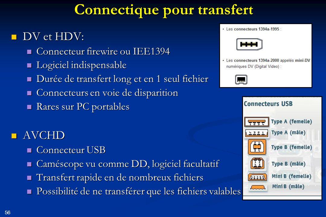 57 Montage « natif » Principe: le montage s'effectue avec le codec du fichier issu du caméscope Principe: le montage s'effectue avec le codec du fichier issu du caméscope Exemples: Exemples: Mjpeg pour DV Mjpeg pour DV Mpg2 pour HDV Mpg2 pour HDV Avantage: conserve la qualité de l'image et son Avantage: conserve la qualité de l'image et son A utiliser de préférence .
