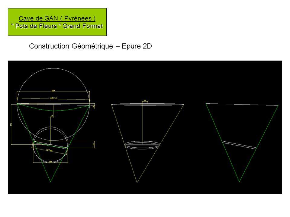 Construction Géométrique – Epure 2D