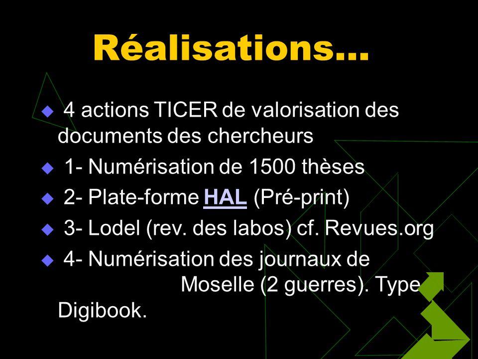 Que fait-on à Metz Clip… numérisation… Numérisation CLIP ici