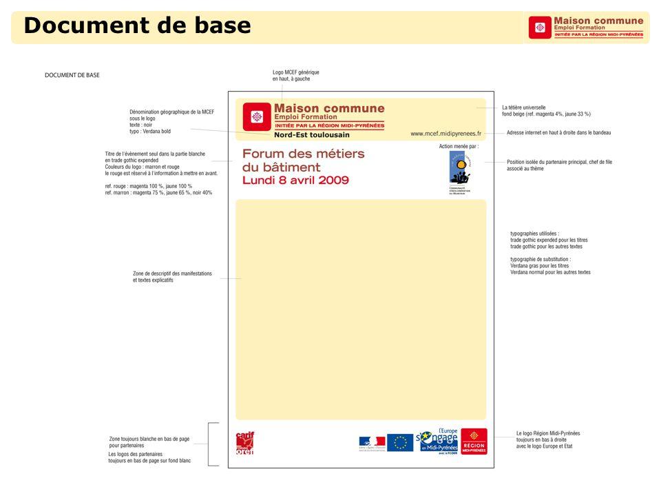 Document de base particulier Chef de file : Bureau territorial