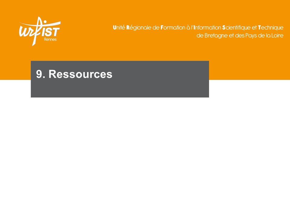 121 9. Ressources