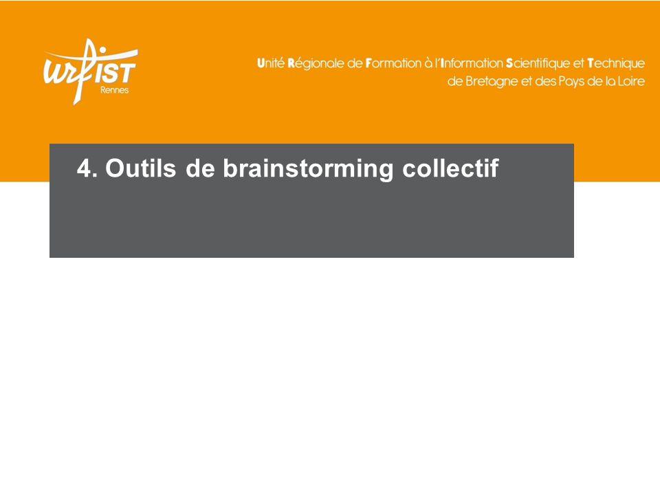 77 4. Outils de brainstorming collectif