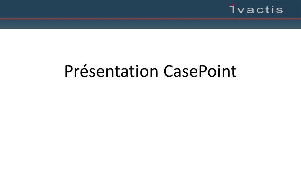 Présentation CasePoint