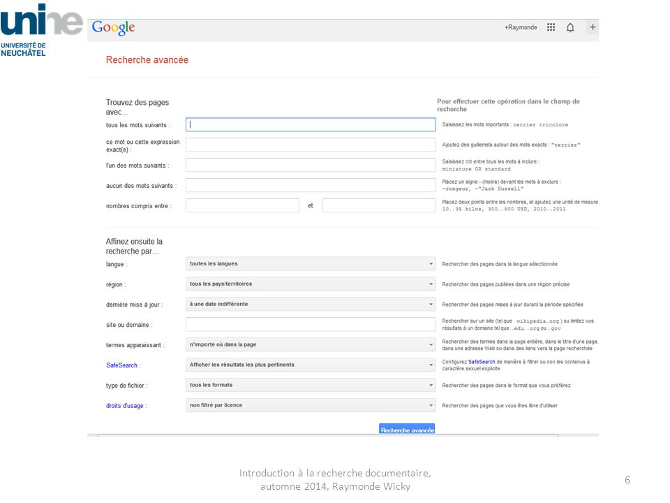Google ni Google Scholar ne recensent pas tout.