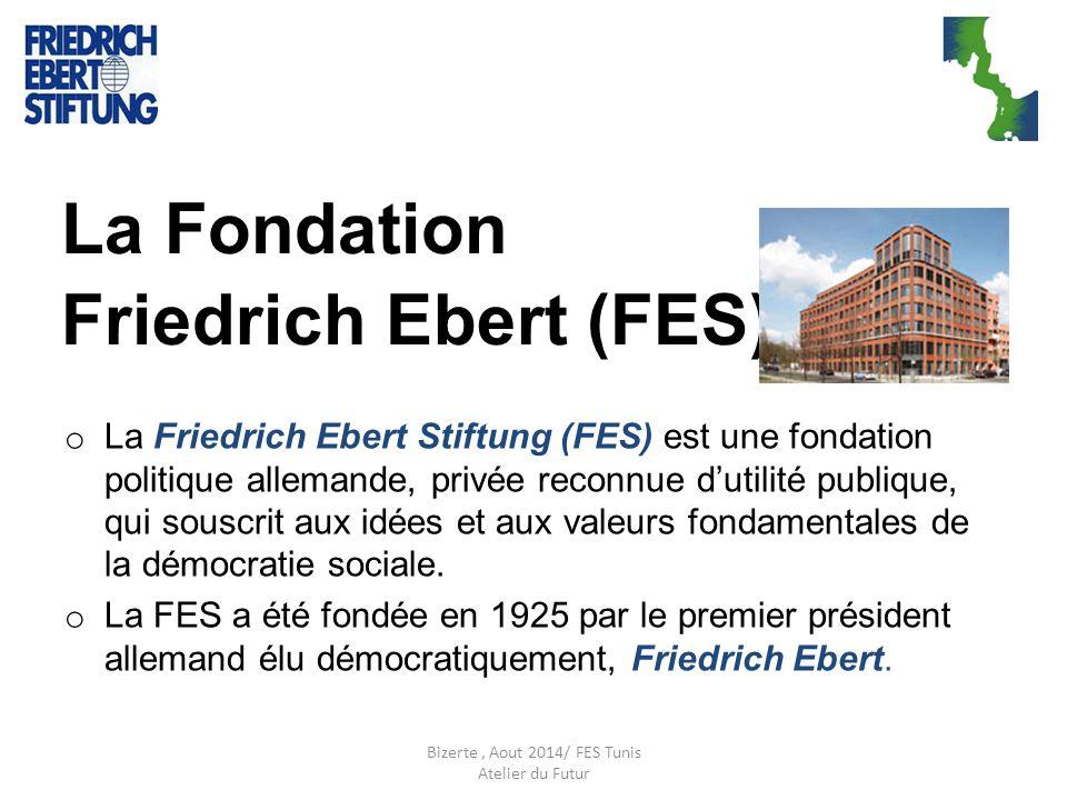 La Fondation Friedrich Ebert (FES) o La Friedrich Ebert Stiftung (FES) est une fondation politique allemande, privée reconnue d'utilité publique, qui